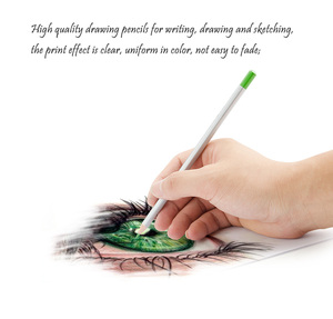 Image 5 - Marco Raffine Fine Art Colored Pencils 48/72 Color+Rubber Eraser Set+Roll UP Washable Canvas Pencil Bag Easy Carrying