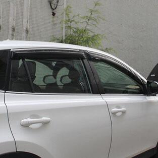 Envío libre cubierta de protección contra la lluvia ropa de lluvia ceja lluvia o brillo Especial estilo del coche Para toyota rav4 2013 2014 2015