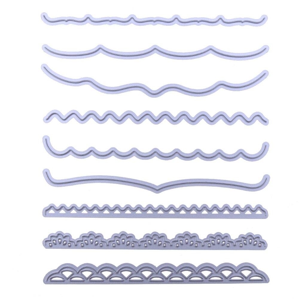 открытка с фигурным краем полу