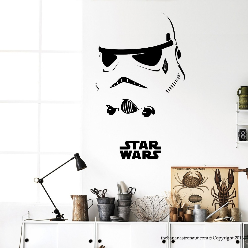Stormtrooper darth vader starwars star wars vinyl wall stickers stormtrooper darth vader starwars star wars vinyl wall stickers wall decals home decor wall art decal mural wall sticker hot in wall stickers from home amipublicfo Gallery