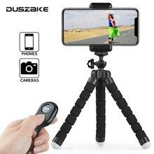 Duszake I8 Mini statyw na telefon aparat Selfie Stick statyw do telefonu stojak elastyczny ministatyw do iPhonea Xiaomi telefon komórkowy