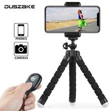 Мини штатив Duszake I8 для телефона, камеры, селфи палки, штатив для телефона, гибкий мини штатив для iPhone, Xiaomi
