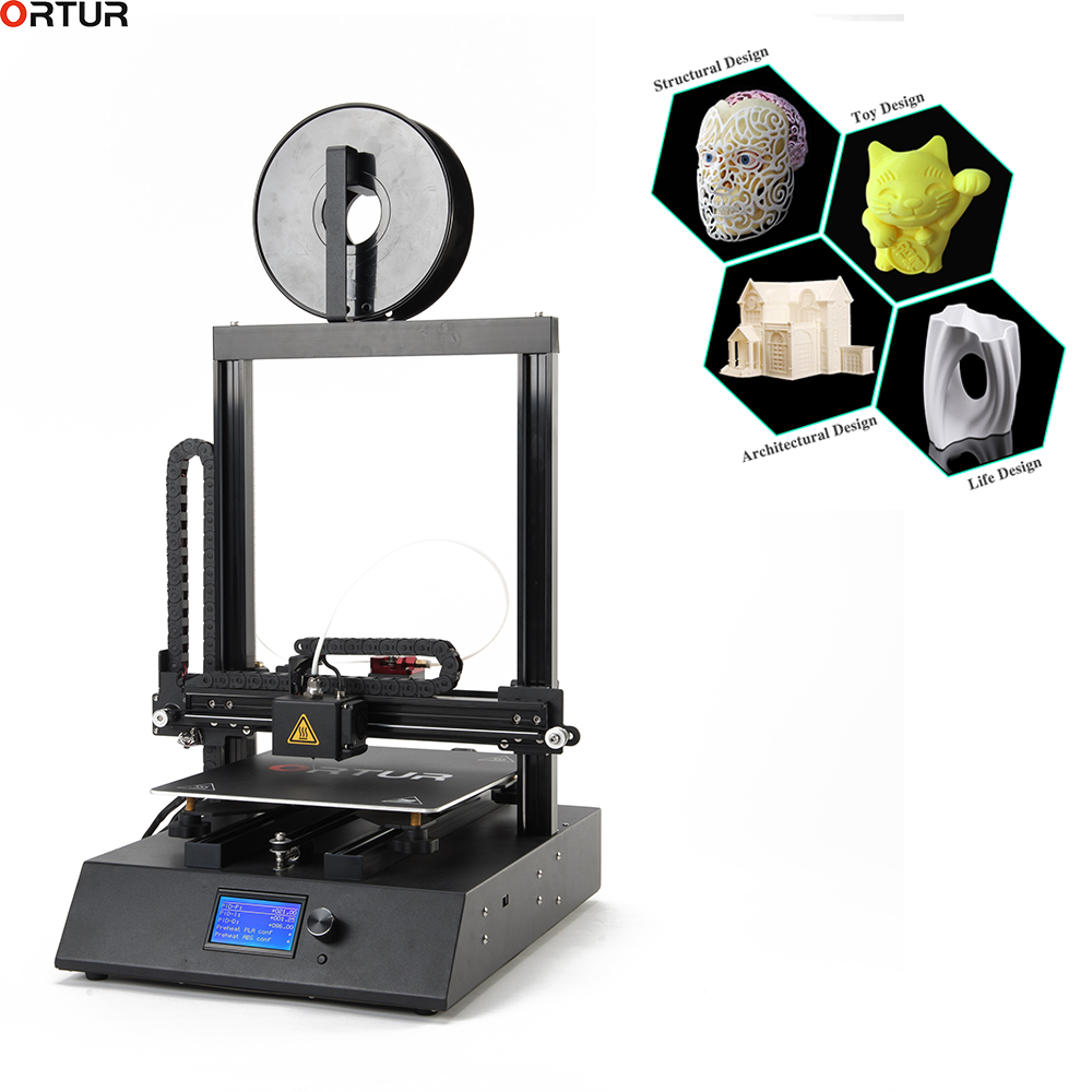 Cheap Price! Full Metal Frame 3D Printer For Sale , ABS