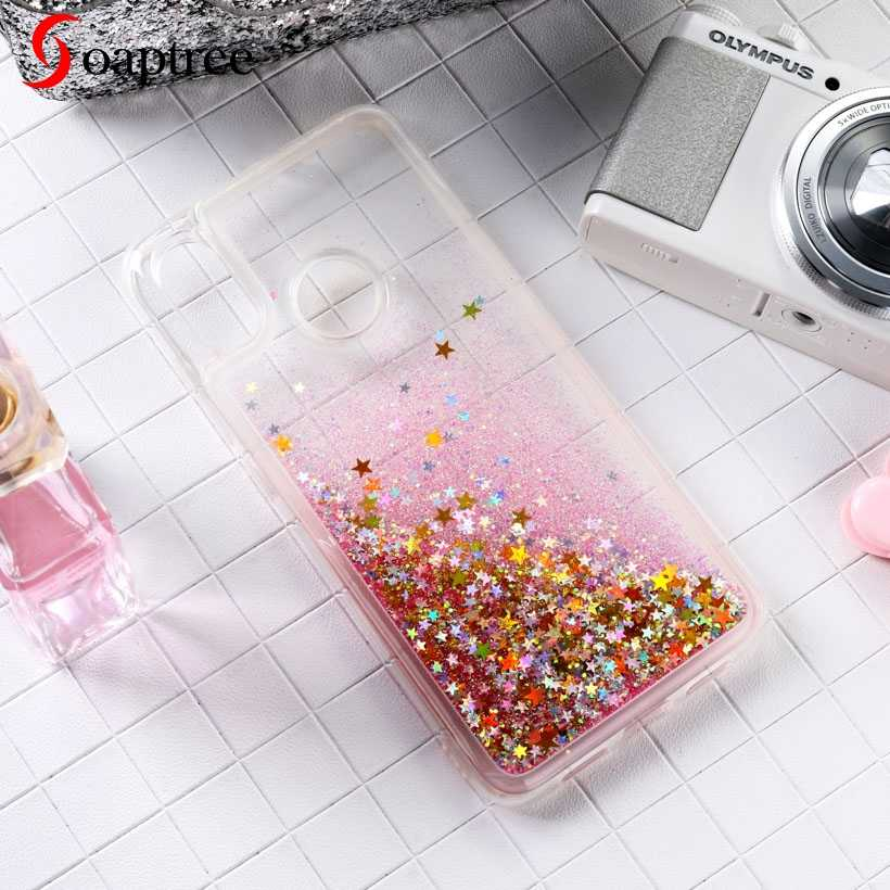 Glitter Liquid Silicone Cases For Huawei Mate 9 10 20 Lite Pro Case For Huawei Nova 3 2S 2i G10 Enioy 6 Honor 9i Mate 30 Cover