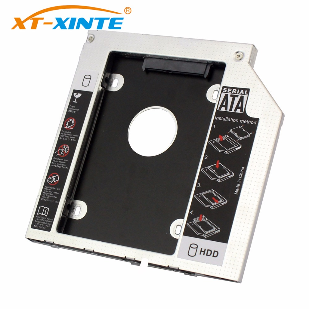HDD Caddy SATA 3.0 Interface 2.5 Inch 9mm 9.5mm 12.7mm Hard Drive Bracket SSD Adapter Optibay  DVD CD-ROM Enclosure Adapter Case