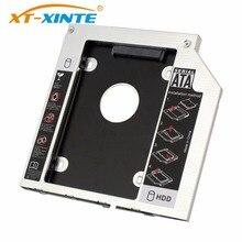 цены на 9mm SATA 3.0 Interface 2.5 Inch Hard Drive Bracket SSD Adapter Optibay HDD Caddy DVD CD-ROM Enclosure Adapter Case for Laptop PC  в интернет-магазинах