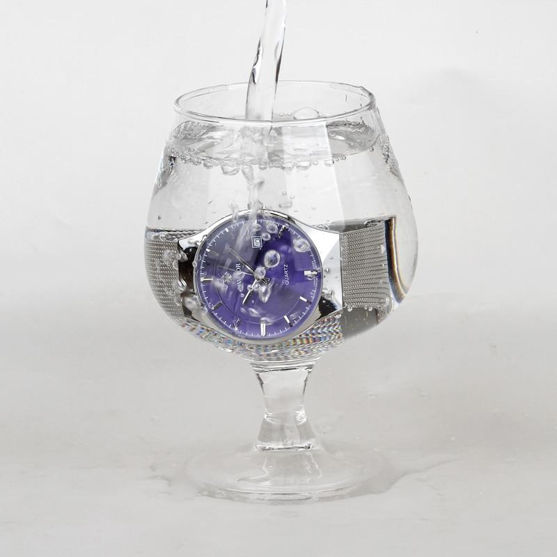 WWOOR Reloj de Lujo para Hombres de Lujo Ultra Delgado Reloj de - Relojes para hombres - foto 5
