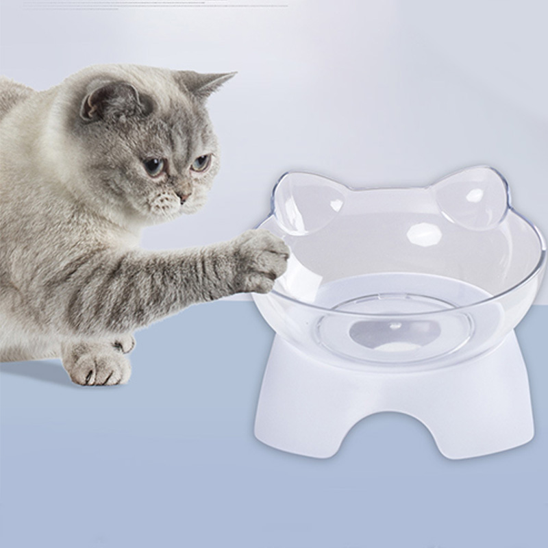 Pet Products Cat Feeder Cat Food Bowl Pet Supplies Cat Dog Food Bowls Cute Cat Bowl Cat Bowl Cats Products For Pets Food Bowls in Cat Feeding Watering Supplies from Home Garden