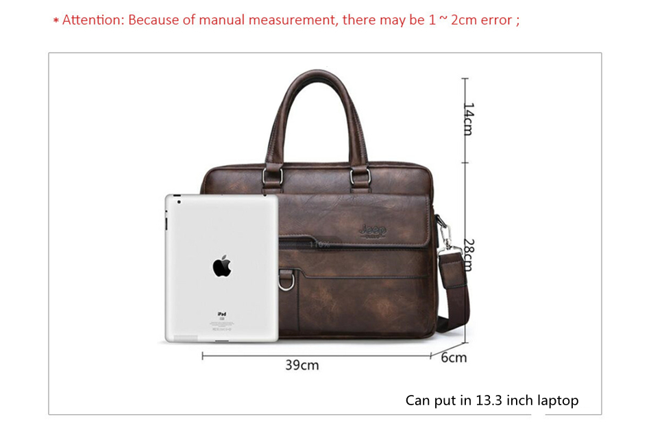 HTB18EVZXRCw3KVjSZR0q6zcUpXaI JEEP BULUO Brand Man Business Briefcase Bag Split Leather High Quality Men office Bags For 14 inch Laptop A4 File Causel Male