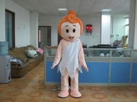 New Adult Size Pink Girl Mascot Costume Adult Character Costume Cosplay mascot costume free shipping
