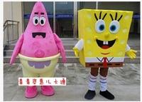Spongebob Mascot patrick star Mascot Costume Fancy Costumes for Halloween