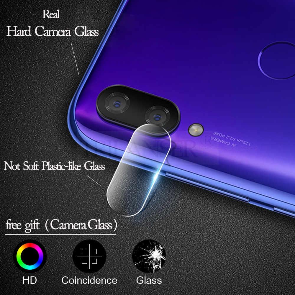 3 في 1 زجاج واقي ل شياو Xiaomi Redmi 7A Note ملاحظة 7 Noteحامي زجاج الكاميرا فيلم عدسة الزجاج المقسى على الأحمر Redmi 7A الأحمر هاتف محمول Red mi note 7