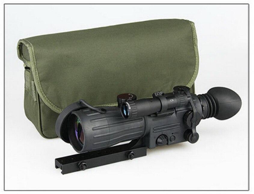 HD инфракрасного ночного видения изображений вспомогательный светло зеленый крест прицел ночной охоты регулируемые зеркала поле посвященн
