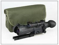HD infrared night vision imaging auxiliary light green cross sight night hunting adjustable mirror field dedicated
