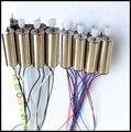 4 PCS SYMA X5 X5C X5C-12.4G Engrenagem Do Motor Do Motor Com Whell Ab Lança Peças Acessórios Para RC Zangão