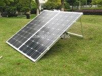 200 Вт 18 В складной моно солнечной панели с 15A контроллер, ноги, клипы, панно, солнечный модуль, для зарядки автомобиля, лодка 12 В батареи