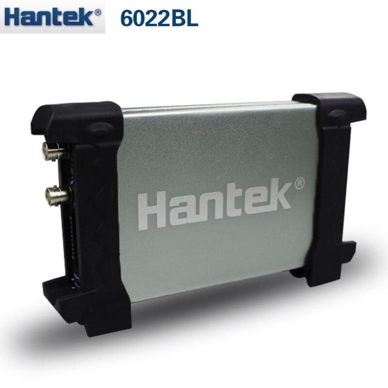 New 20Mhz Bandwidth Hantek Oscilloscope Generator 6022BL & 16ch Logical Analyzer  цены