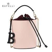 Bafelli женские сумки спилок ведро сумки высокого качества Строка Сумка письмо украшения bolsos mujer красный сумка