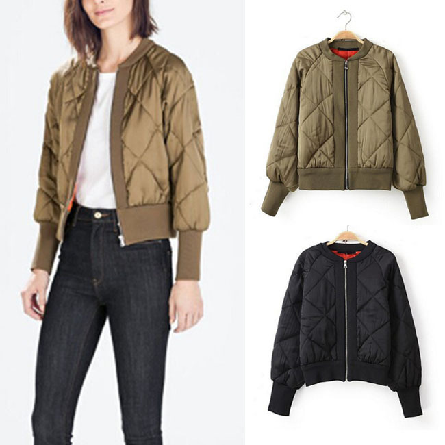 2015 New Fashion Women Plus Size Short Crew Neck Jacket Vintage Thin