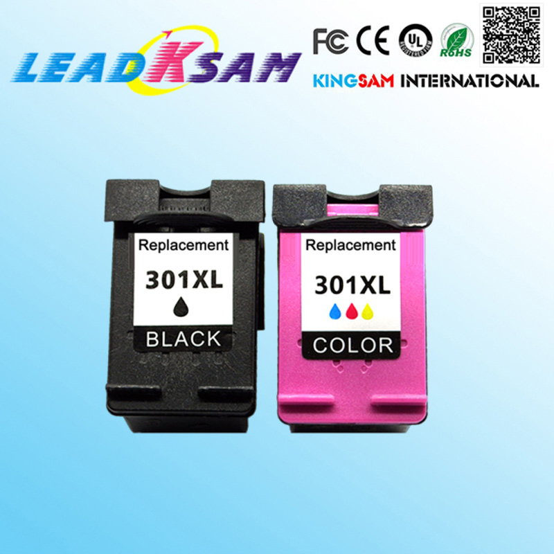 2X Ink Cartridges For hp301 301XL Deskjet D1000 1000 1010 1050 1050A 1510 1512