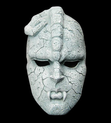 Stone Ghost Full Face Resin Mask Juvenile Comics JOJO Amazing Adventures Gargoyle Theme Masks Halloween Masquerade Party Props