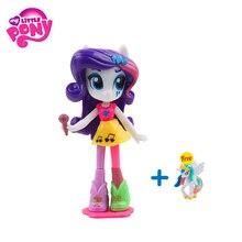 Original Hasbro My Little Pony Equestria Girls Rarity Apple Jack Twilight Sparkl PVC Movie Action Figures Model Doll Girl Gifts