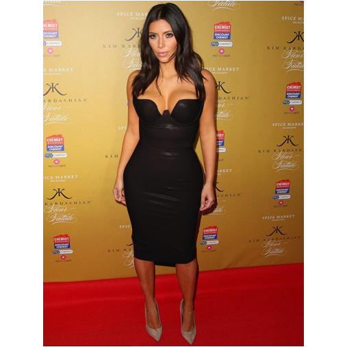 0a01ddedb44009 6 Colors Hot Celebrity Kim kardashian Knee Length Black Leather Dress Sexy  Party Tight Dress-in Dresses from Women's Clothing on Aliexpress.com |  Alibaba ...