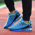 Men Casual Shoes Sport Air Cushion Mesh Breathable Lace Up Flat Walking Shoes Height Incresing Mens Trainers Basket Femme Zapato