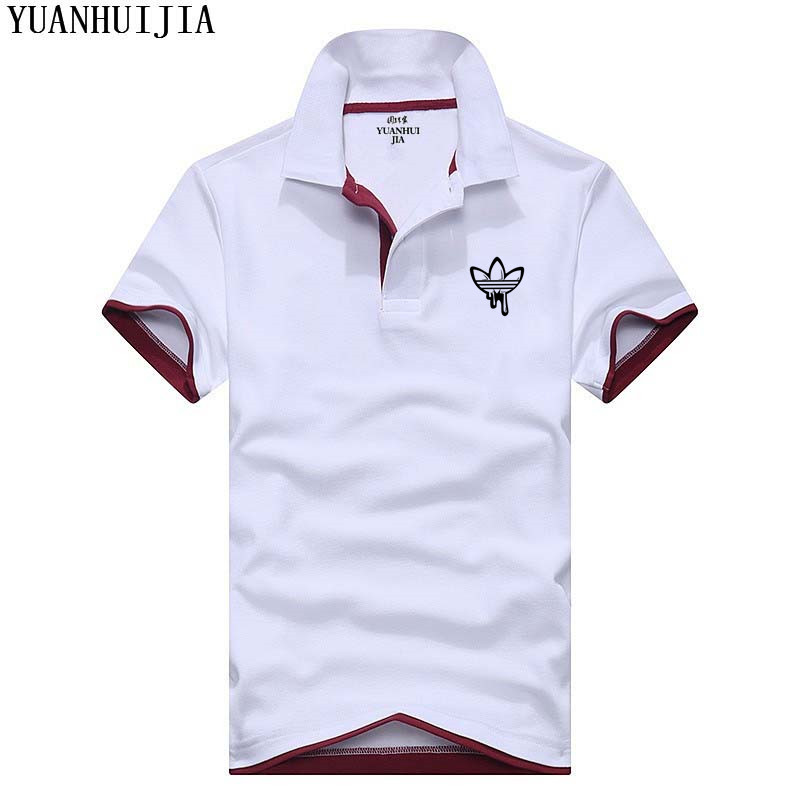New LOGO Brand New Men's   Polo   Shirt Men Cotton Short Sleeve shirt Brands jerseys Mens Shirts   polo   shirts