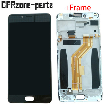"5.5"" Black / White with frame For ZTE Nubia N2 NX575J LCD display with touch screen digitizer sensor panel assembly"