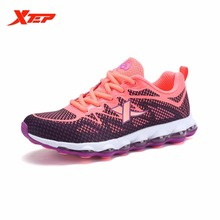XTEP Brand Professional Running Shoes for Women Air Cushion Outdoor Sports Shoes DMX Techonology Athletic Sneakers 983118119201
