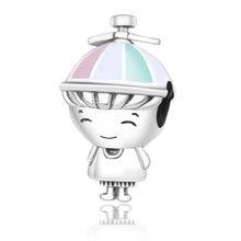 Fit Original Pandora Charms Bracelet 2019 New Summer Collection 925 Sterling Silver Propeller Hat Boy Beads Charm DIY berloques
