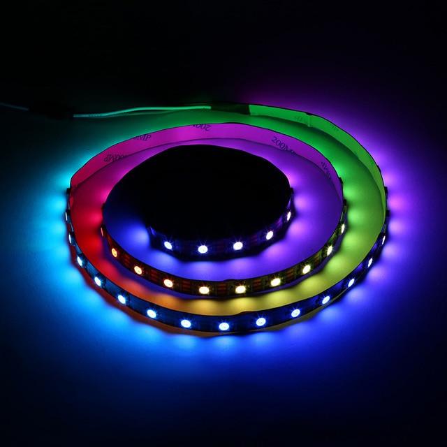 2018 Venta caliente 60 LED RGB impermeable luces LED strip DIY color ...