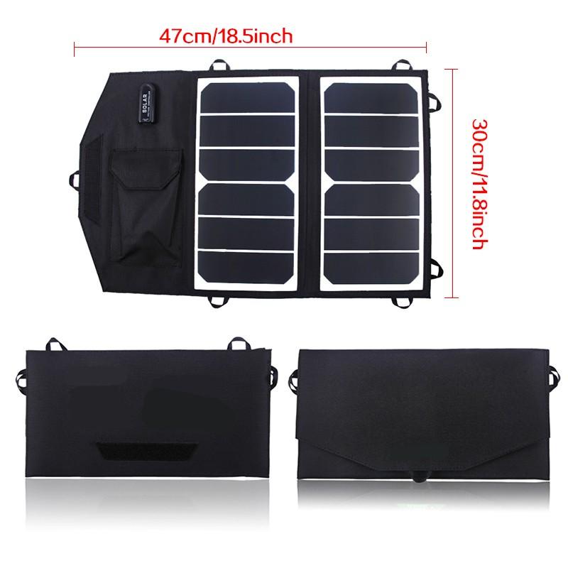 14W folding solar panel
