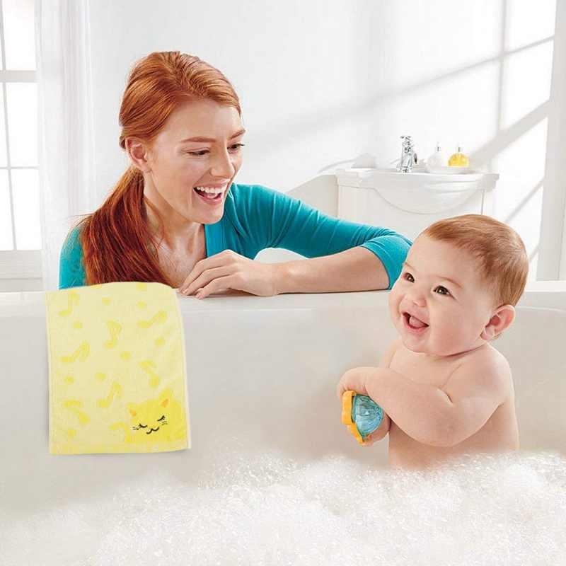 Детское полотенце с мультяшным рисунком, жаккардовое, с вышивкой кота, мягкое, мягкое полотенце s, для дома, для ванной, мини, с квадратным лицом, ручные, детские полотенца 25*50 см