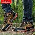 ZHJLUT men shoes fashion walking shoes comfortable men casual shoes slip resistant outdoor lace up shoes men 508