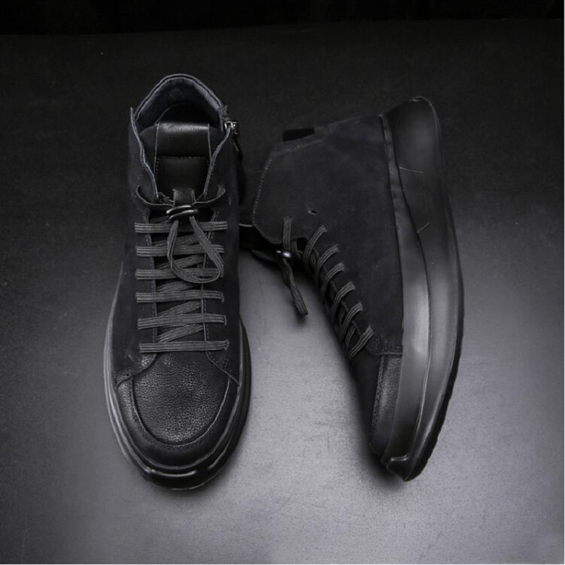 Preto Homens Lace Sapatos up 2018 High Livre Di Homem Top Arrival Comfot Scarpe Casuais Marca Ar Leves Mycolen New Uomo Ao wxX50t4qq