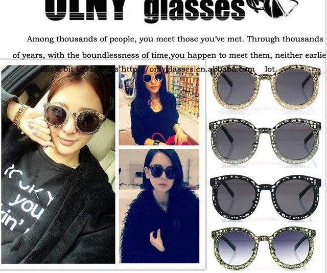 affd6fc690 Retro hollow circle Karen Walker Sunglasses Metal Sunglasses-in ...