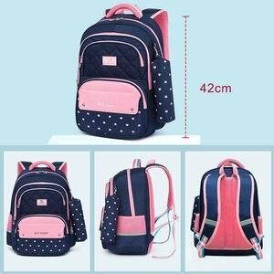 Image 3 - Children School Backpack School Bags For Teenage Girls Kids Backpack girl Childrens School Bag Orthopedic Back Mochila Escolar