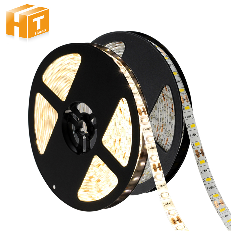 LED Strip 5730  Flexible LED Light DC12V 60LED/m 5m/lot Brighter than 5050 5630 LED Strip. ...