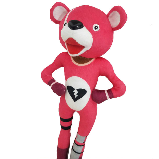 30cm Adorable Playful Irresistible Cartoon Soft Pink Bear Doll Stuffed Toy Plush Doll Toys 2018 1
