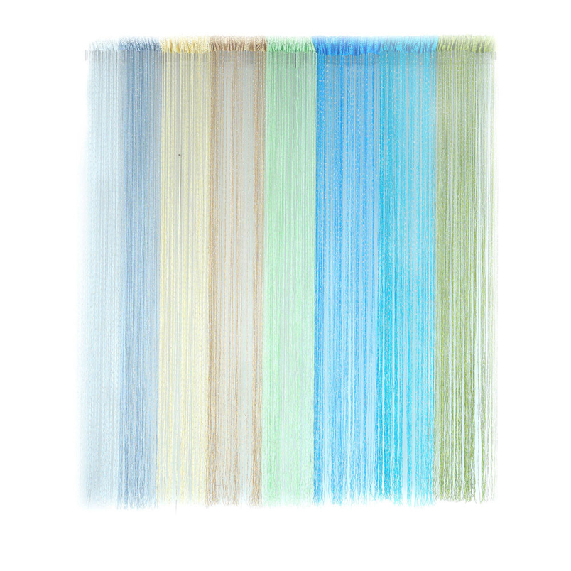 Ouneed string curtain 1PC hot sale Patio Door Fly Screen Room Divider Door Window Fringe Curtains*30 GIFT 2017 Drop shipping