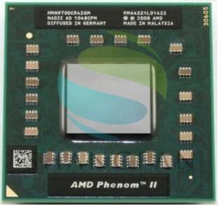 Original AMD Phenom processador cpu N970 HMN970DCG42GM 638pin PGA S1 Tomada para Computador 2.2G