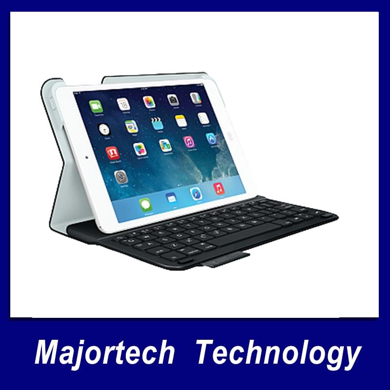 New Original Genuine Logitech Ultrathin Keyboard Folio iK610 ik810 ik1050  mini for iPad mini free shipping logitech logitech for ipad air ik1050 1 generation with integrated keyboard protection