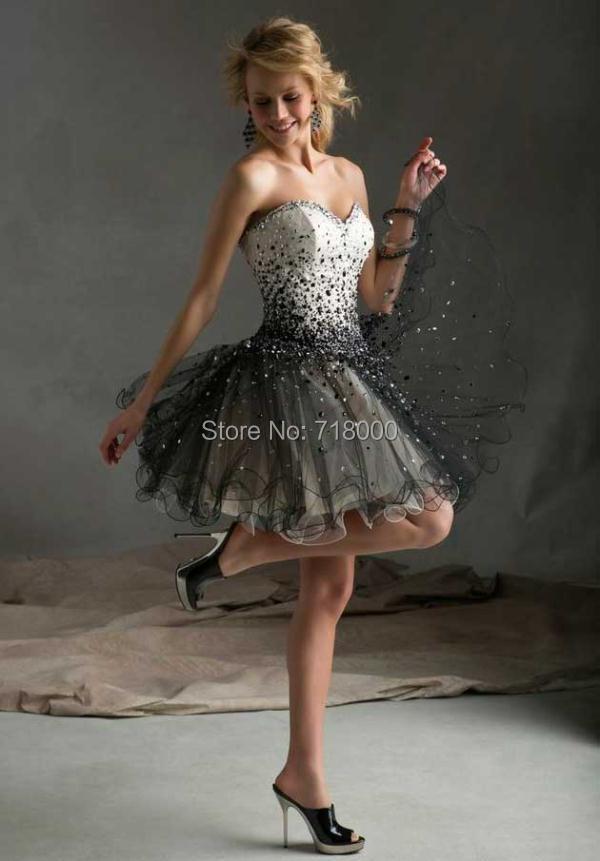 2014 Fashion sweetheart beading short Homecoming dresses Mini Pink cocktail summer custom made 1122 - Lucky-star wedding dress store