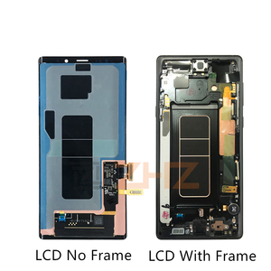 Image 2 - For Samsung Galaxy Note 9 Lcd Display Touch Screen Digitizer Assembly n960 N960F N960D N960DS note 9 display +Frame repair parts