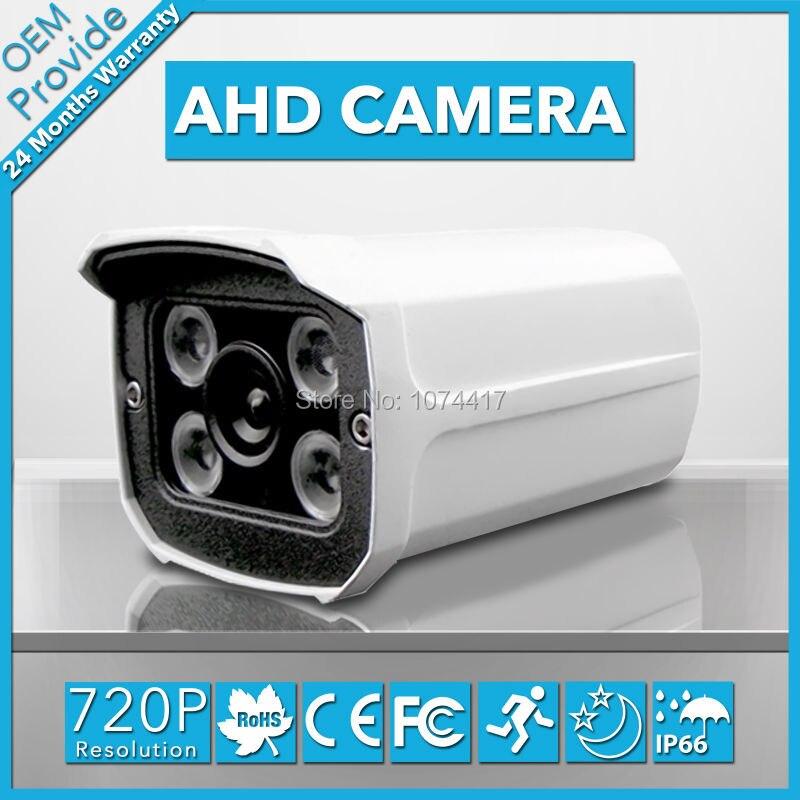 AHD4100LV AHD Camera HD 720P IR Bullet H.264 CMOS Camera 3.6/6mm Lens Onvif Night Vision  1.0MP Security Camera linvel lv 8081 6 1