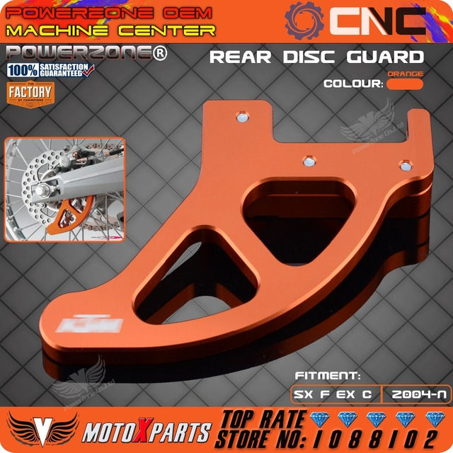 Billet Freio Traseiro Disco Guarda Potector Para KTM SX SXF XCW XCF XC EXC EXCR EXCF Corridas de Motocross Da Bicicleta Da Sujeira Enduro