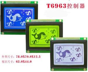 20PIN 12864 LCD Graphic Module KS0107 KS0108 RA6963 Controller 3.3V 5V Backlight