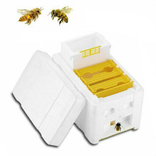 Harvest Bee Hive Beekeeping King Box Pollination Box Beekeeping Tool Perfect For Garden Pollination Flow Hive Beehive Frames #F5 automatic beekeeping box house wooden bee hive house beekeeping equipment beekeeper tool smart wooden hives frames kit bee tools